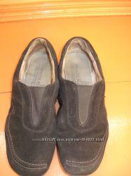 Кросовки натуральный замш черные