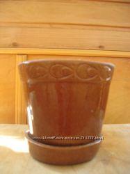 Горшок для вазонов керамический бу.