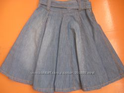 Юбка джинсовая клешная, фирма Next