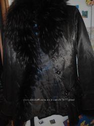 Куртка с нат. подстежкой и мехом