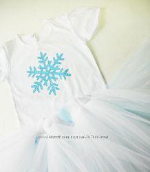 Костюм снежинка, снегурочка, зима