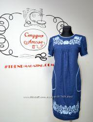 Платья вышиванки