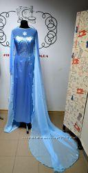 Платье Эльзы для аниматоров