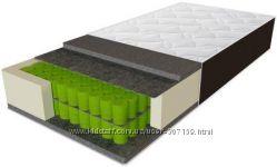 Высокий матрас 28см Дельта Sleep&Fly Organic Delta