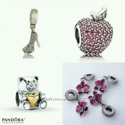 Шармы Пандора Pandora, серебро пандора