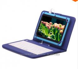 Планшет  iRULU eXpro X1s 7 дюймовый андроид 4. 4 чехол с клавиатурой