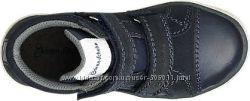 Ботинки кроссовки кожа B&228renschuhe от Deichmann 26р по стельке 16, 7см