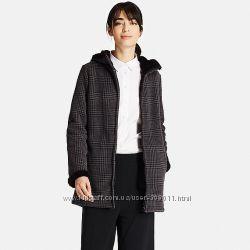 Пальто с капюшоном из флиса Юникло Uniqlo. Оригинал