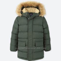 Пальто детское Юникло Uniqlo рост 130 см
