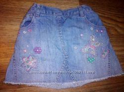 Юбка джинсовая 1
