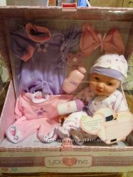 Кукла -Пупс You Me 14 inch Doll with Trunk and Accessories