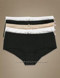 Хлопковые женские трусики-шортики Marks & Spencer Англия р. 14