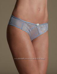 Кружевные трусики-бразилиана Penelope Marks & Spencer Англия размер 14