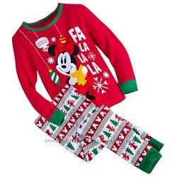 Новогодняя пижама Минни Маус для девочек р. 2 Disney США