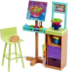Мебель для дома Барби -  Студия художника Barbie Art Studio Playset