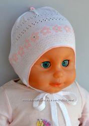 Новая шапочка для малышки р. 42
