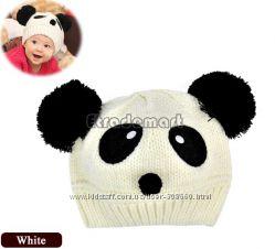 Шапочка -панда, 100 хлопок