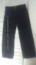 штаны вельветовые на 4-5р на рост 110см
