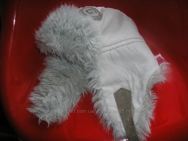 шапка на зиму на объем 52-54см