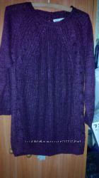 Уютный свитерок для будущей мамы