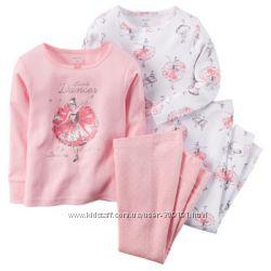 Пижамки от Carters для девочек размер 24М