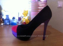 Туфли женские новые экозамш 38 размер
