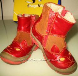 ботинки Шаговита с шерстяной подкладкой деми