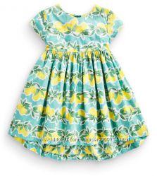 Яркое платье с лимонным принтом