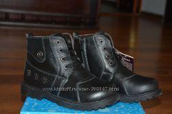 Кожаные ботиночки для мальчика