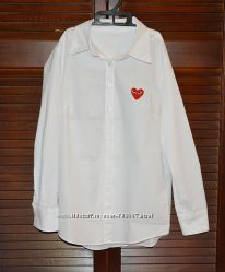 Белая рубашка , размер S