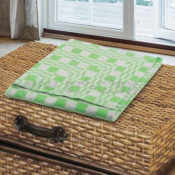 Одеяла байковые и шерстяные. Размер 110х140, 140х205