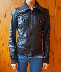Куртка кожаная bershka