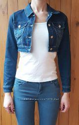 Куртка джинсовая джинсовка синяя