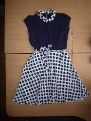 Красивое шифоновое платье, 8 или S
