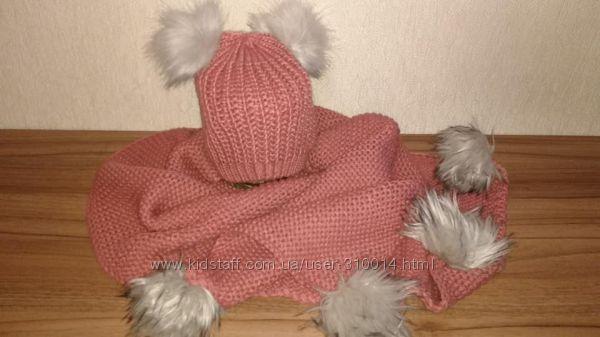 Суперовый шарф и шапка primark