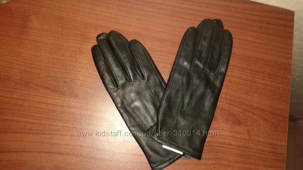 Новые кожаные перчатки Damart Франция
