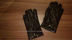 Кожаные мужские перчатки,  М, L, XL