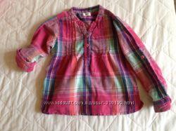 Яркая рубашка F&F 3-4года