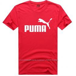 PUMA original мужские футболки. Хлопок.