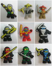 Джибитсы Jibbitz - Лего Ніндзяго Ниндзяго та Супергерої LEGO Ninjago