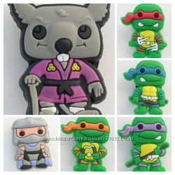 Джибитс Jibbitz Черепашки ніндзя Ниндзя Teenage Mutant Ninja Turtles TMNT