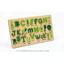 Деревянный сувенир Алфавит