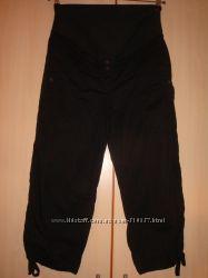 Капри стрейчевые для беременных H&M mama Великобритания euro36 us6