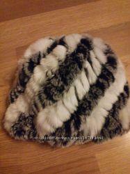 отличная шапка из натурального меха