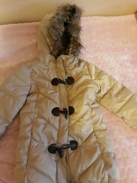 Зимняя куртка coolclub, р. 116