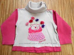 Красивый реглан свитер на девочку 12 месяцев, Турция