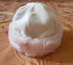 Демисезонная шапочка на объем головы 52 см