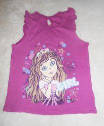 Майка-футболка на 5-6-7 лет, рост 110-116