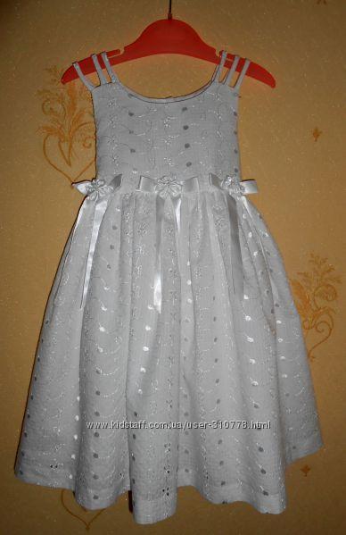 Нарядное, красивейшее платье BONNIE JEAN на девочку 4 лет, рост 104 см