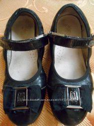 Кожаные школьные туфли Buddy Dog, 32 размер